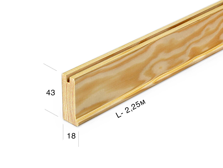 Рейка для подрамника 4318-0-225j