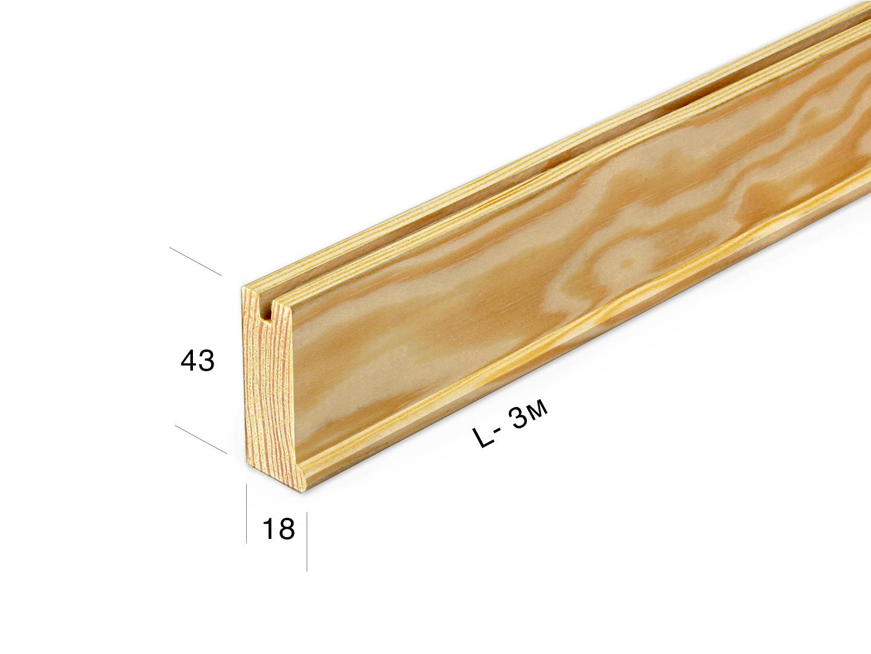 Рейка для подрамника 4318-0-300m