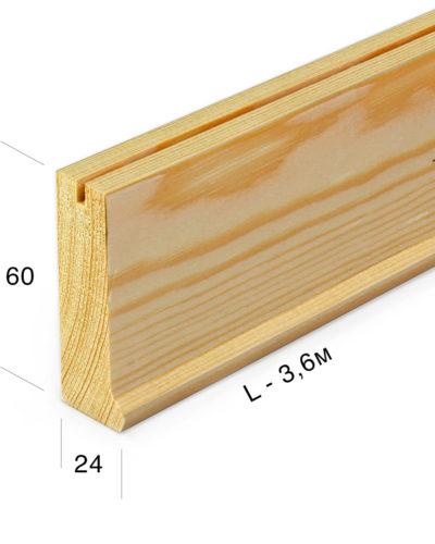 Рейка для подрамника 6024-0-360j