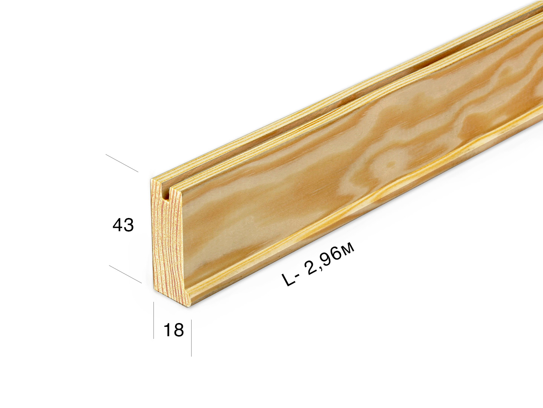 Рейка для подрамника 4318-0-296j